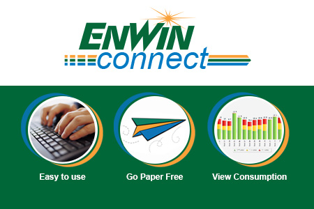 Sign Up for ENWIN Connect. You can switch to paperless billing, view your consumption and it is easy to use.