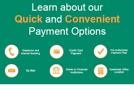 Learn about our Quick and Convenient Payment Options