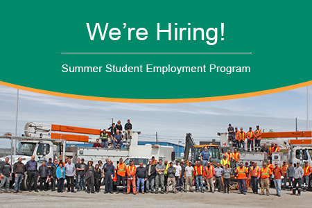 Join Our Team! Summer Students Banner